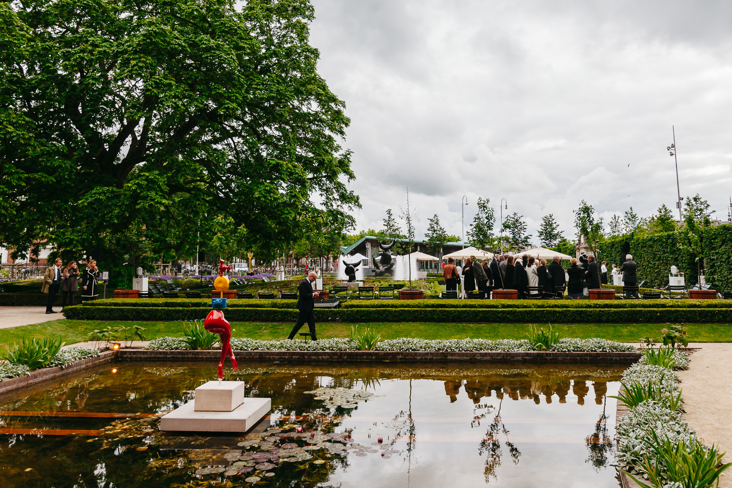 Rijks Museum's annual Garden Party