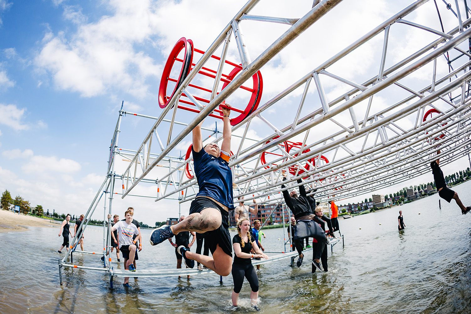 Sport: Basic-Fit Obstacle run